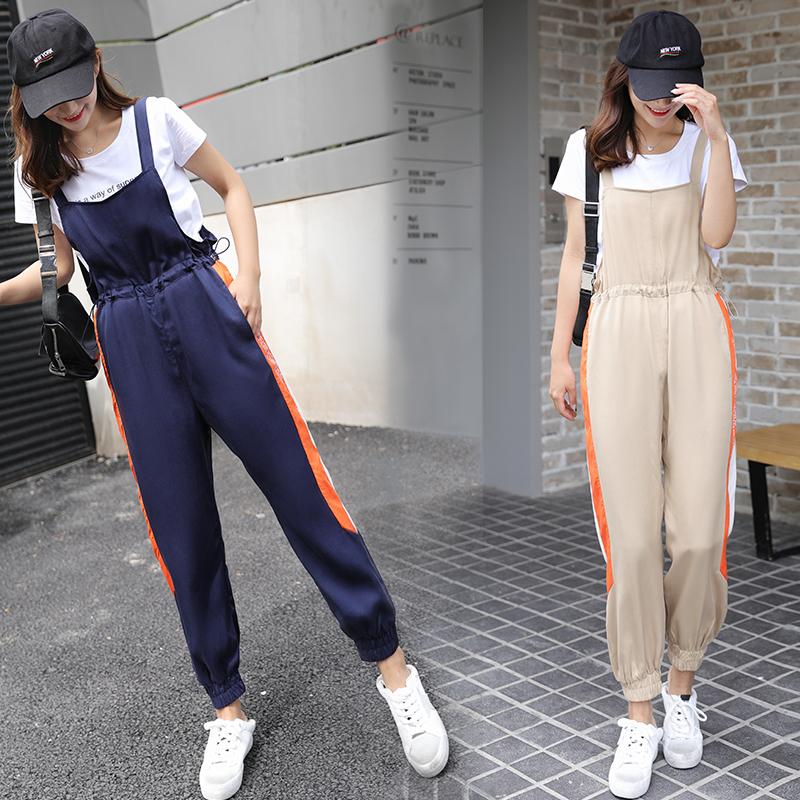 生春夏季哈伦裤显瘦裤子两件套套装套裙 KXJZZX P135