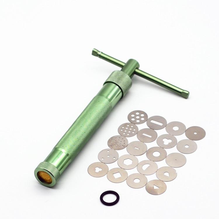 专业旋转版挤泥器美国土陶艺泥塑 软陶泥工具粘土油泥花式挤泥枪