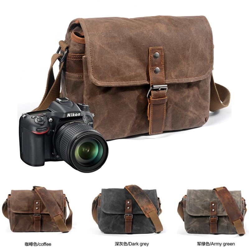 单肩摄影包单反富士佳能徕卡索尼帆布相机包微单复古防水Xpro3