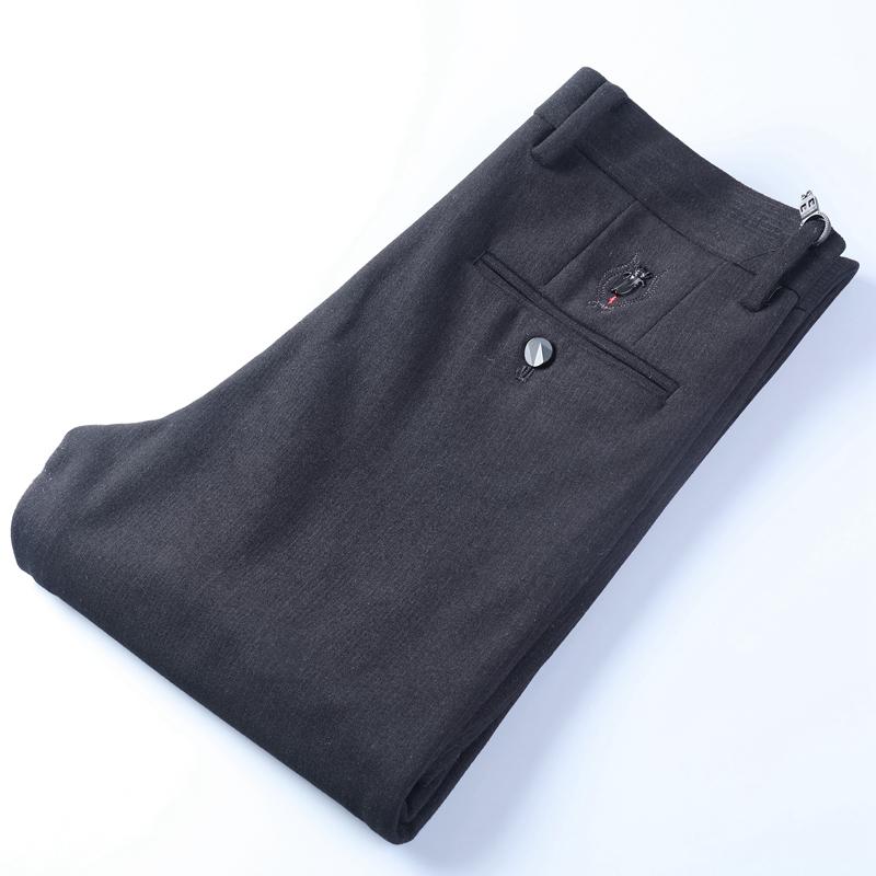 优雅绅士直筒西裤