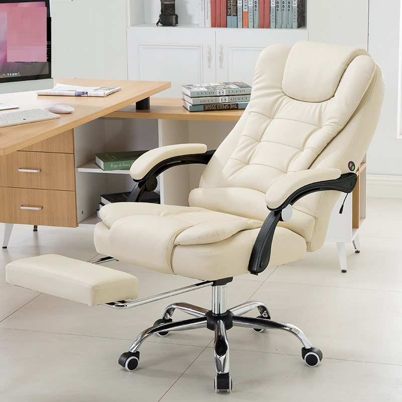 时尚按摩电脑椅老板椅 家用电脑椅办公椅 按摩躺椅子转椅大班椅