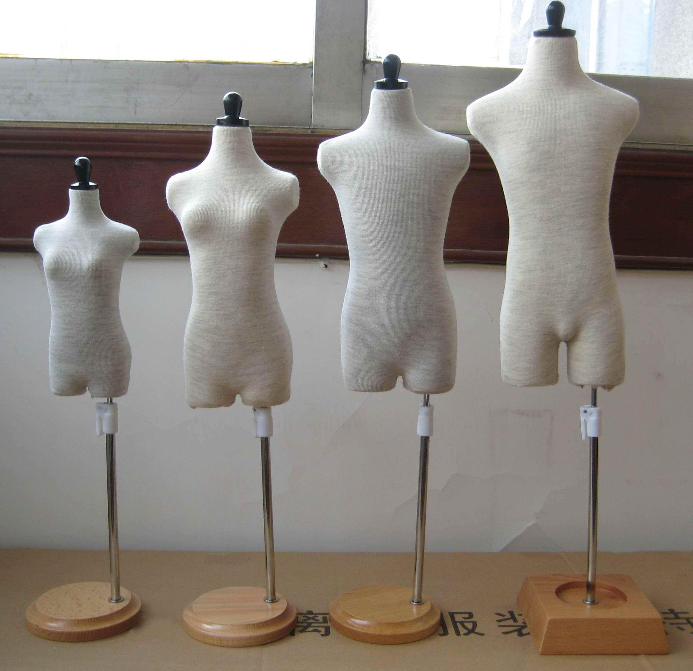 BJD人台1/3人台3分制衣专用人台娃衣立裁模特4分立裁人台人体模型