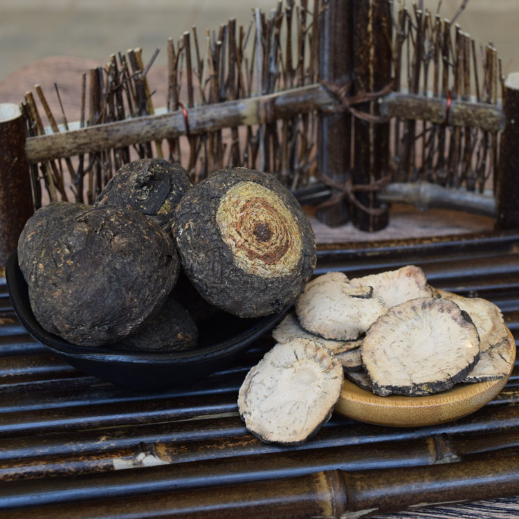Black Maga Peru authentic wild black Maca dry fruit dry slice wine making material imported Maca powder can be sliced and ground