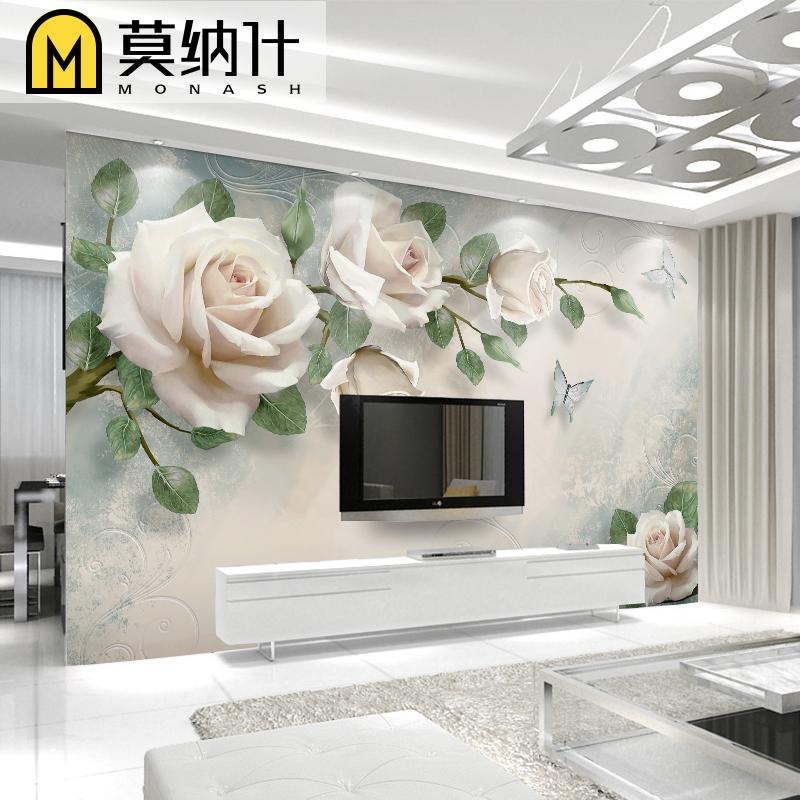 3d立体油画田园现代5d壁纸壁画墙纸10月14日最新优惠