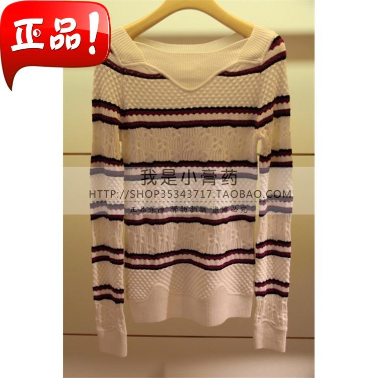 2013年秋款 正品 简约针织衫 F2402602-1980