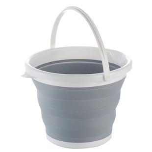 日本摺疊水桶旅遊户外便攜式可伸縮水桶加厚加高硅膠洗車車載水桶