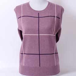 中老年女装50-60岁秋冬妈妈毛衣针织套头圆领羊毛衫打底衫上衣女