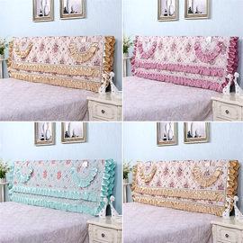 床头罩床头套防尘罩1.5m床1.8m床简约夹棉拆洗软包欧式实木保护套图片