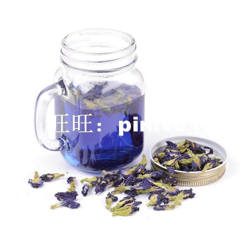 100g Clitoria Ternatea Tea.thai Blue Butterfly Pea Tea Vitam
