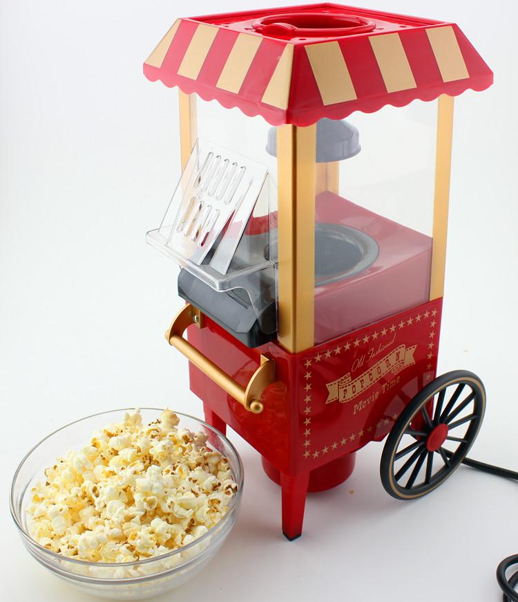 大号推车爆米花机家用全自动儿童玉米电动商用苞谷机球形