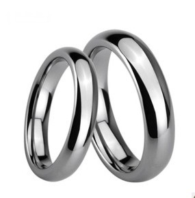 Tungsten gold ring, wedding ring, 111, can be engraved in stock!