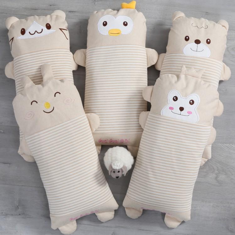 韩式韩寝韩国枕头 纯棉荞麦壳枕芯枕头单人韩式儿童护颈椎枕