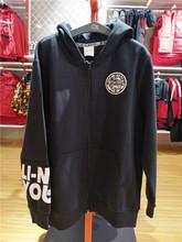 李宁正品男童装春儿童篮球针锋相对开衫连帽卫衣运动外套YWDQ009