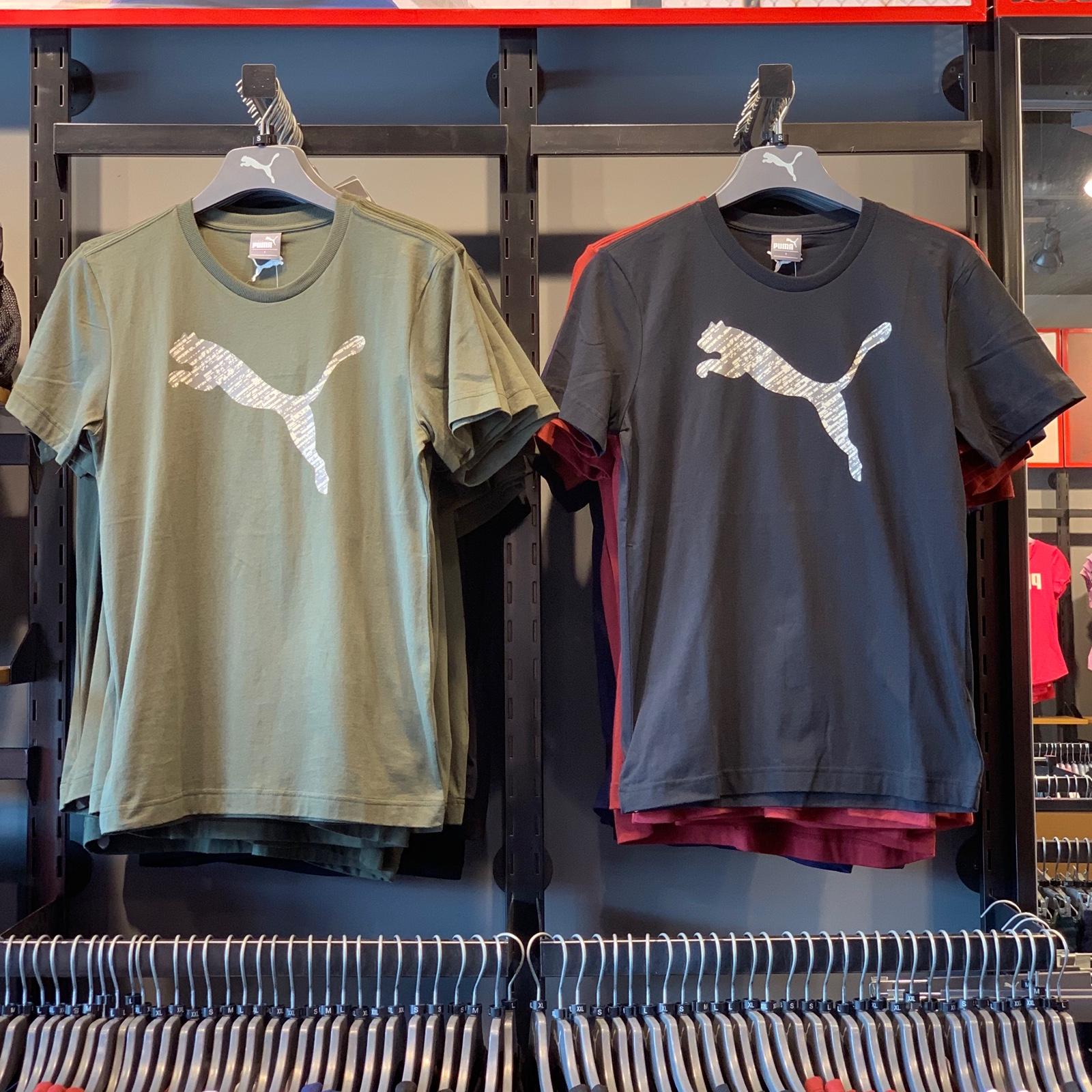 满99.00元可用1元优惠券彪马夏季新款男子运动圆领短袖t恤