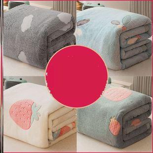 单件绒绒午觉春夏季成人简约秋季夏天儿童懒人铺床被毯双层3D毛毯品牌