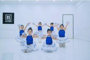 六一新款么么哒舞蹈表演服儿童亮片幼儿蓬蓬纱裙梦想的列车演出服