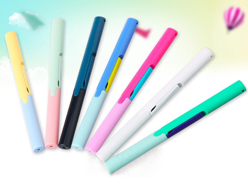 普樂士剪子筆式便攜剪刀SC~130P剪紙刀折疊 剪刀學生家用