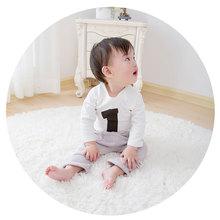 秋冬韩版新款新款男童女童数字纯棉打底衫儿童T恤男童女童婴童幼