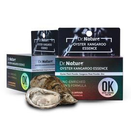 澳洲Dr.Nature生蚝袋鼠精OK丸备孕补充男性体力提高精子活力60粒图片
