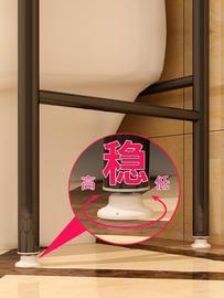 冲钻限量家用省空间小户型卧室洗手间厕所洗衣机马桶架子收纳神器图片