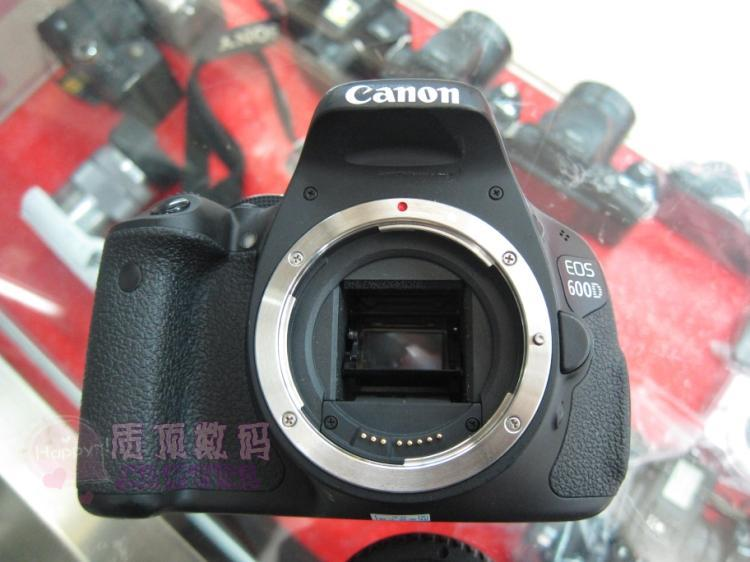 Canon EOS 600D digital SLR camera 18-55 anti shake lens rotating screen 18 million photos and videos