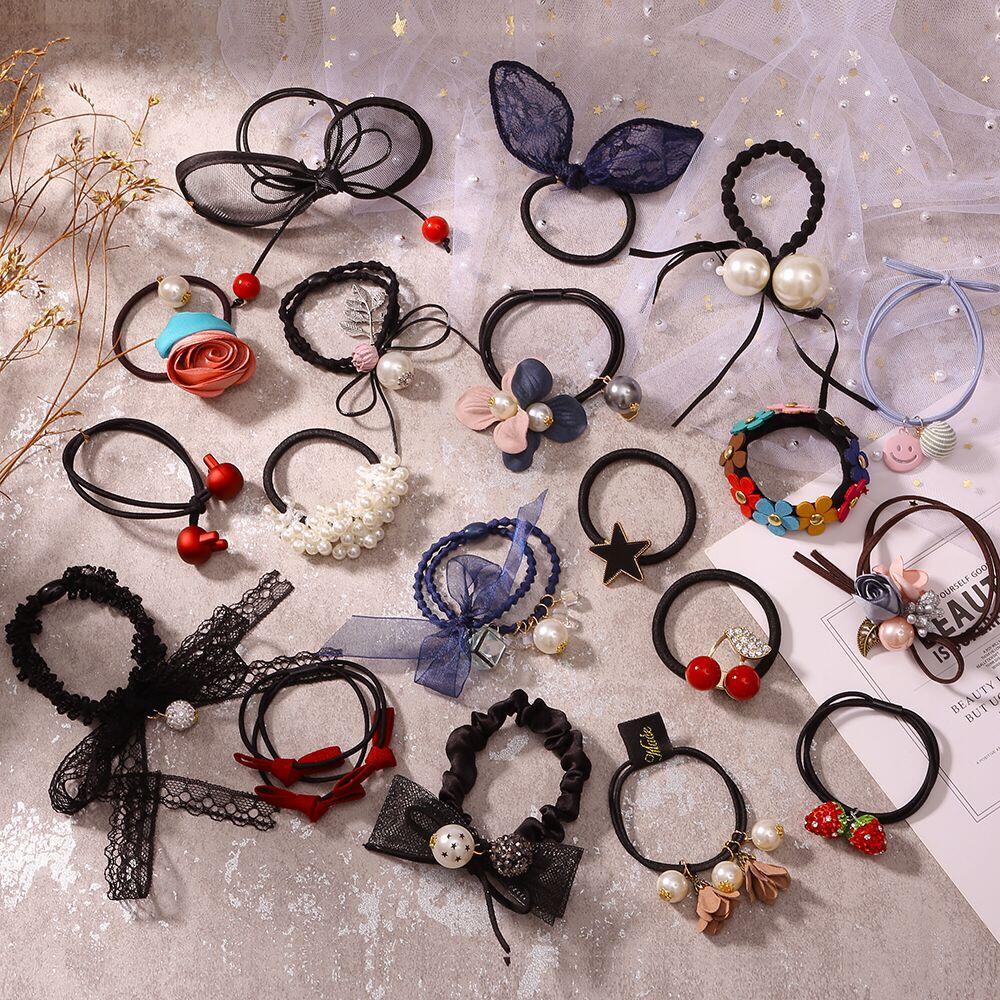 韩国发圈扎头发饰橡皮筋发绳头绳头饰品发箍发卡头花发带刘海发夹