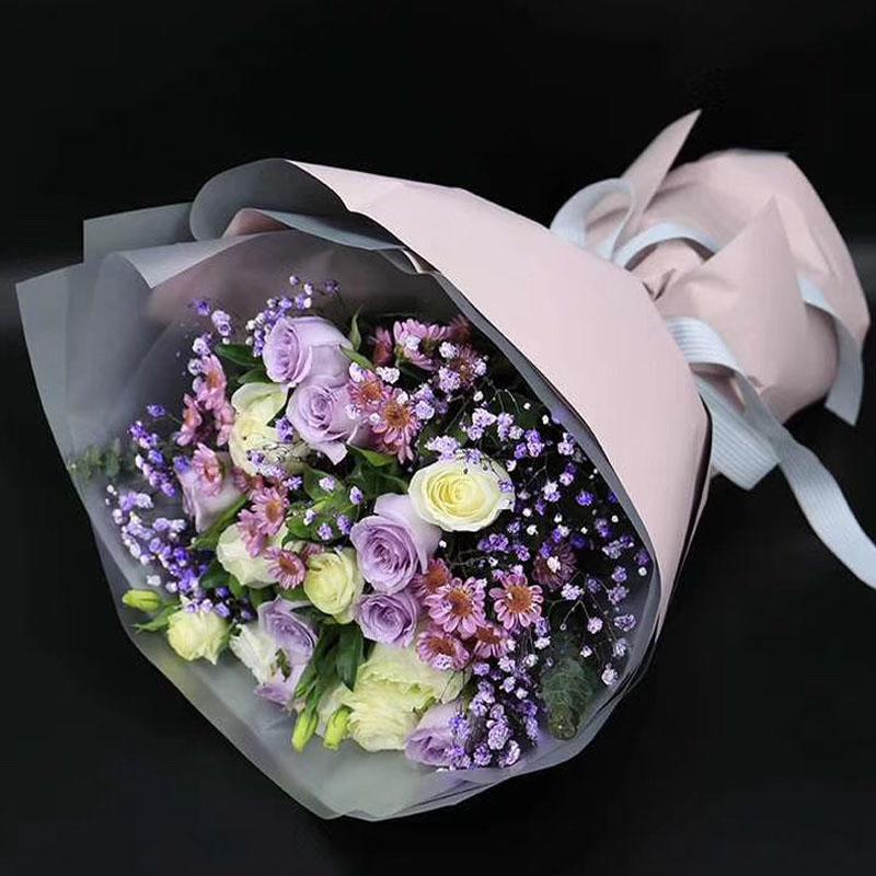 全国1-2小时送到手上大连宁波上海杭州北京武汉鲜花花束礼盒玫瑰