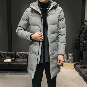 2019中長款棉衣男士加厚外套新款冬季棉襖潮流上衣服韓版保暖棉服