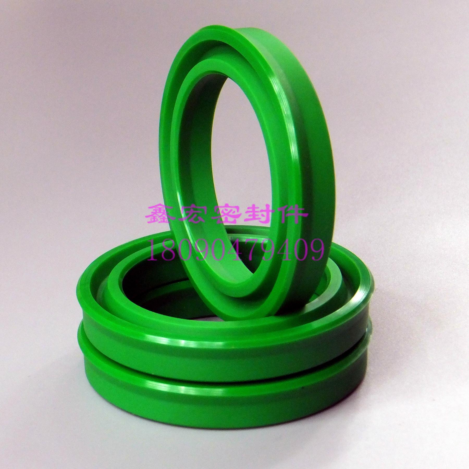 液压油缸油封UN/UNS/U/Y/V型150*170*12/15/16活塞/杆用密封圈/件