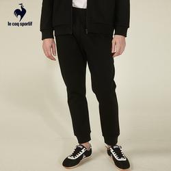 【A】乐卡克法国公鸡日常系列针织休闲运动TC抓毛绒收口长裤男士