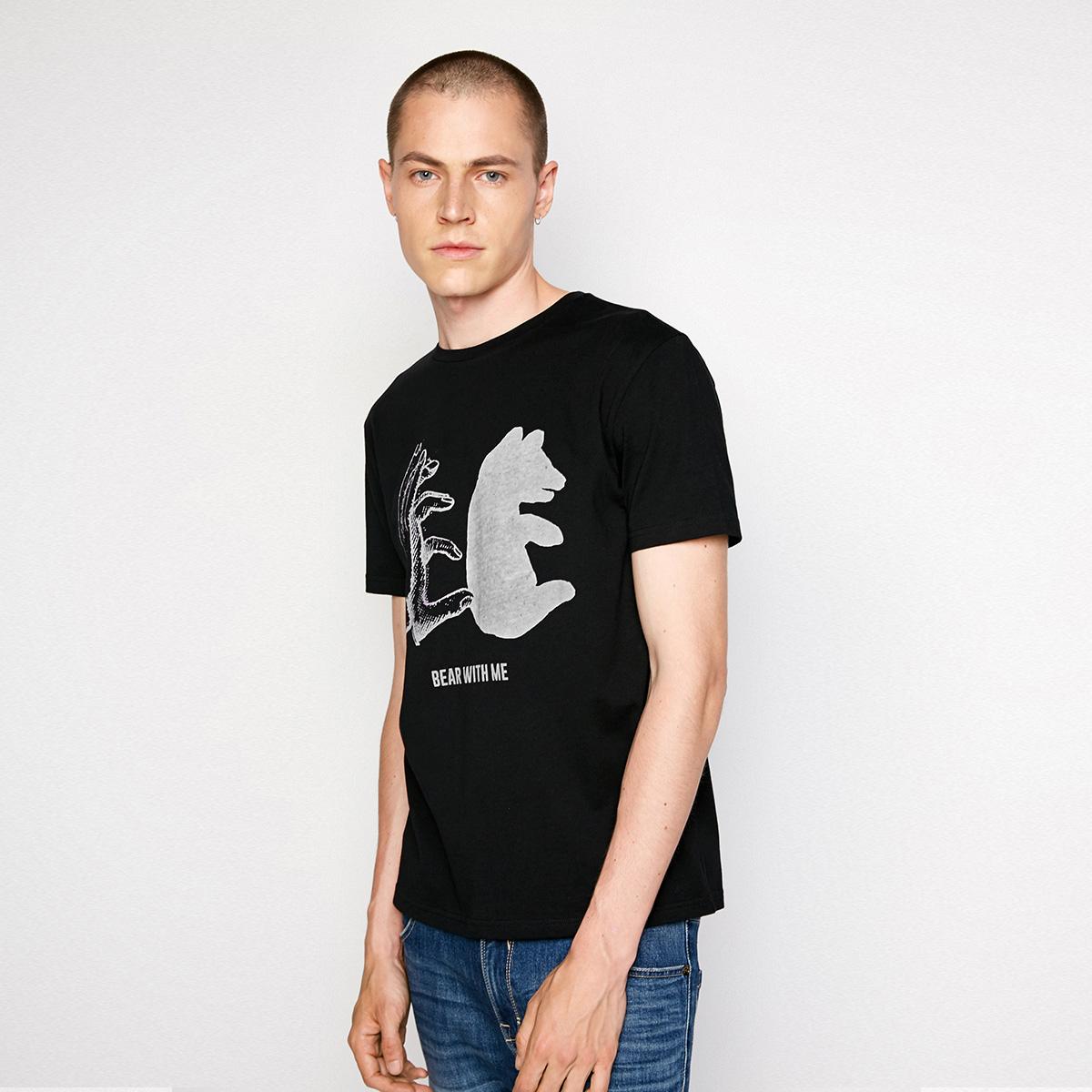 JackJones杰克琼斯秋男短袖T恤上衣半袖218301577
