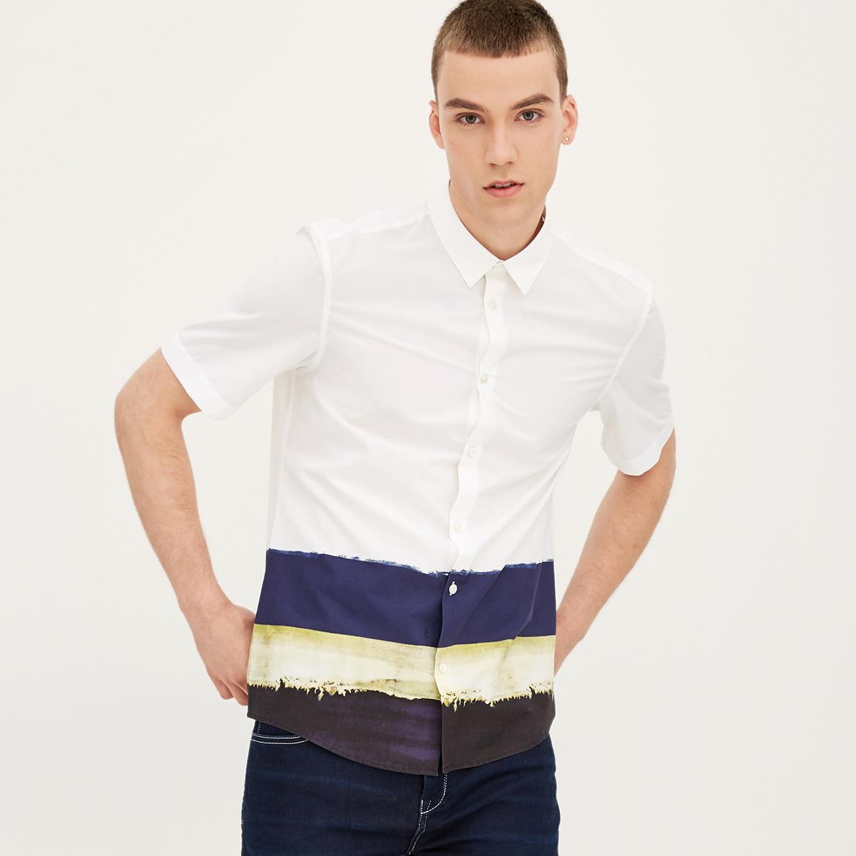 纯棉短袖衬衣