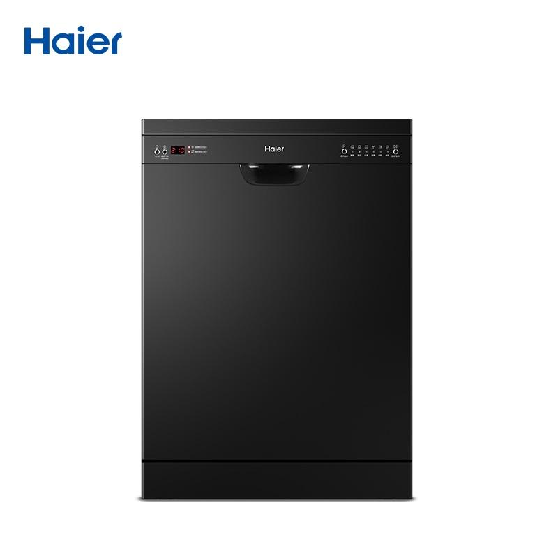 10月18日最新优惠Haier/海尔 EW13918BK 13套微蒸汽洗独立式嵌入式洗碗机智能新品