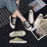 飞耀经典帆布鞋2020新款夏鞋潮鞋百搭小雏菊夏季情侣板鞋小白鞋女