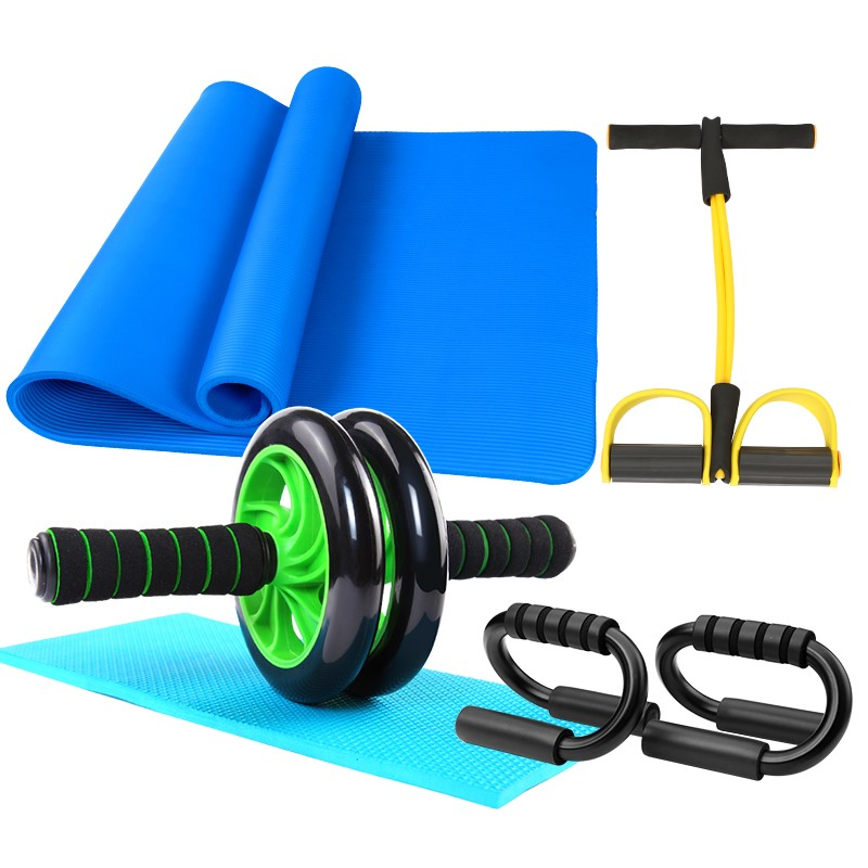 限时包邮钜惠健身器材键腹家用男滑轮八块轮肌锻炼身体肌卧推