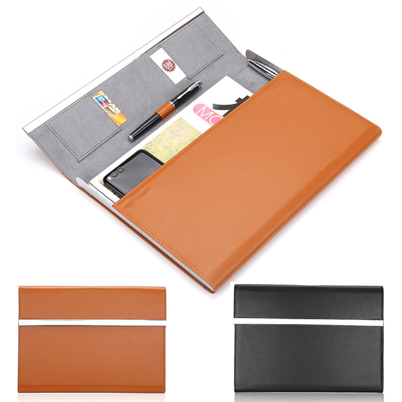 Mens and womens business ol workplace A4 documents portable briefcase fashion real estate meeting bag