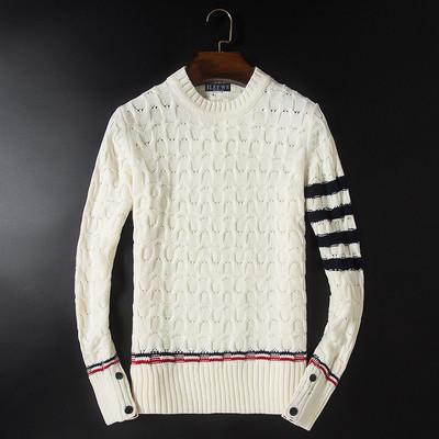 精品D220 9015 冬季男士圆领加厚保暖毛衣 P160 售价不低于198