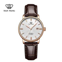 天王表女士皮带自动机械时尚休闲手表LS51000