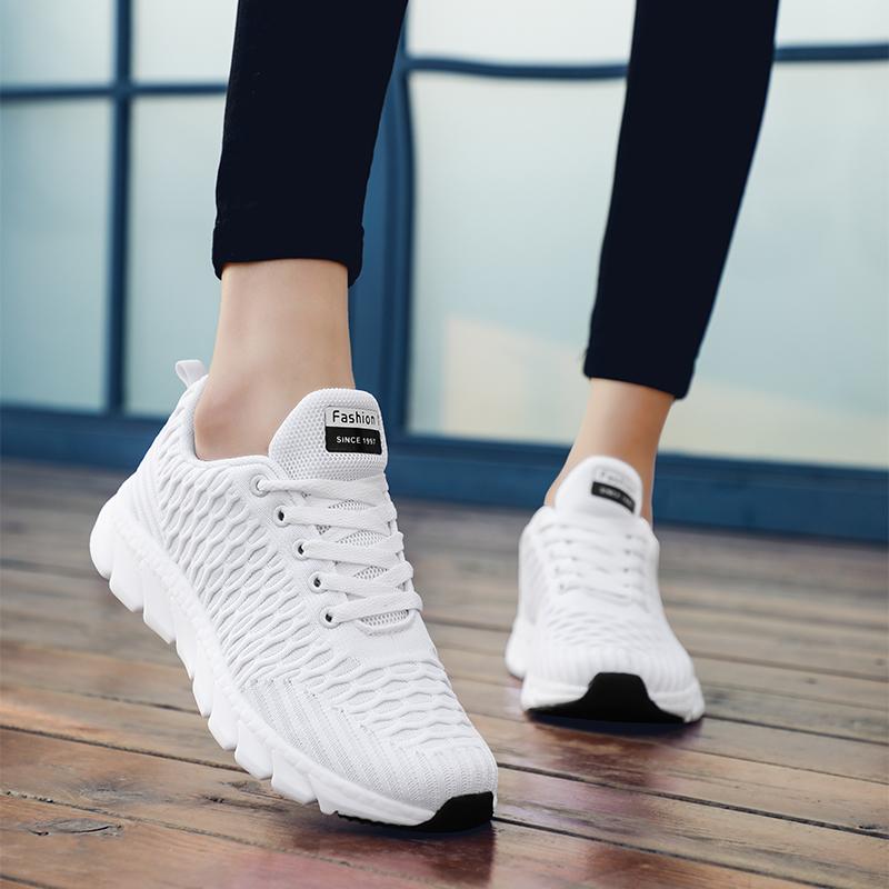 回力2019秋季新款白色网面学生女鞋热销136件正品保证