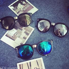 儿童太阳镜大圆框男童墨镜时尚男女童宝宝偏光眼镜潮配抗压眼镜盒图片