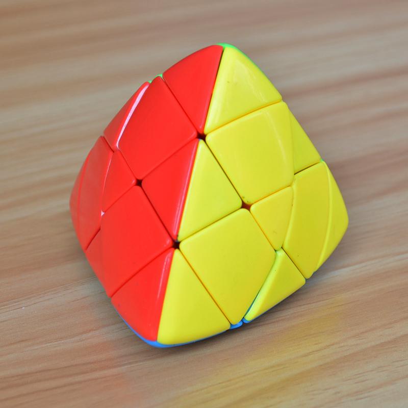 圣手实色粽子魔方4色顺滑智力玩具(用2元券)