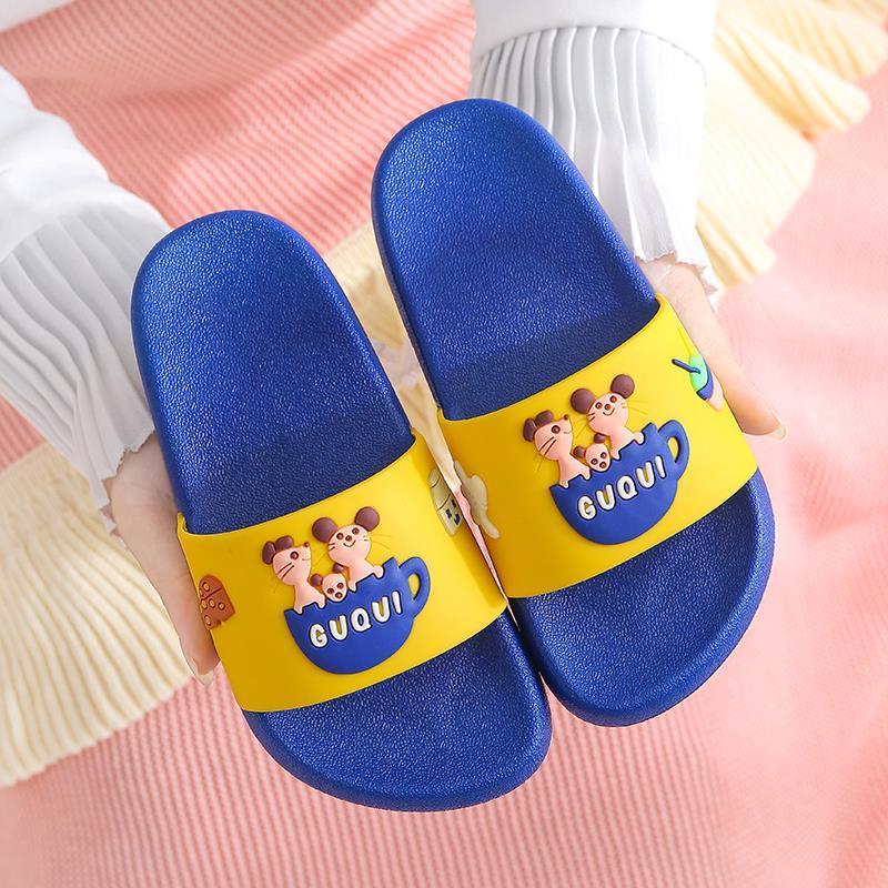 儿童拖鞋夏男童女童室内防滑软底家用家居可爱小孩亲子宝宝凉拖鞋