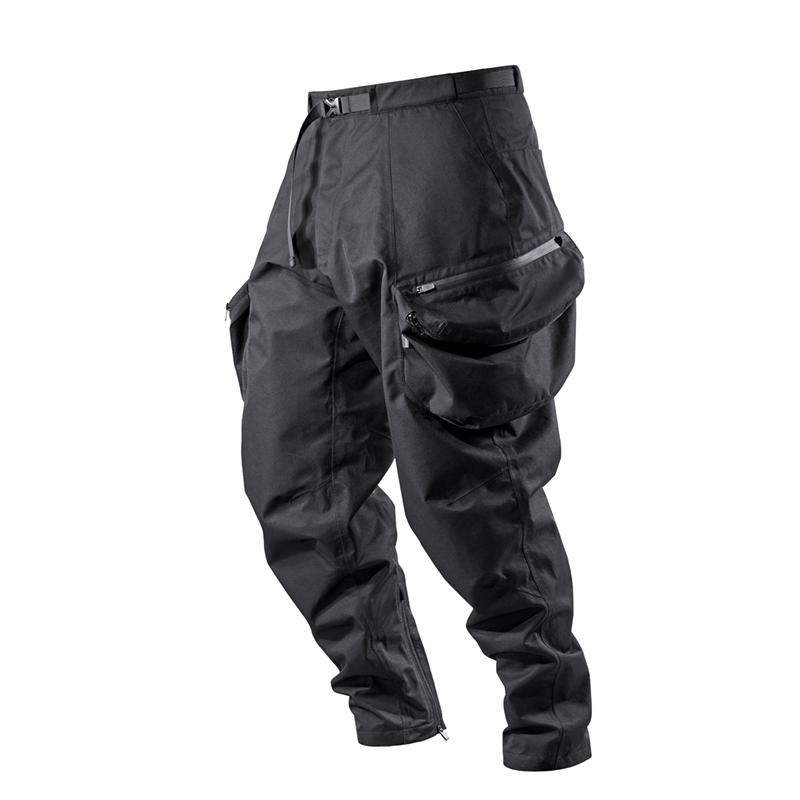 RL | REINDEE LUSION 19F/W 3D剪裁拉链大口袋防水锥形束脚长裤