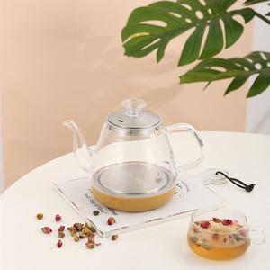 金杞自动水壶配件茶吧机饮水机零配件底座小五环电热玻璃烧水壶