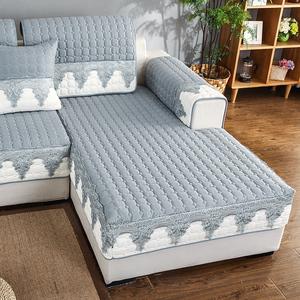 沙发垫布艺防滑四季通用北欧简约坐垫子全包万能套沙发套罩巾全盖