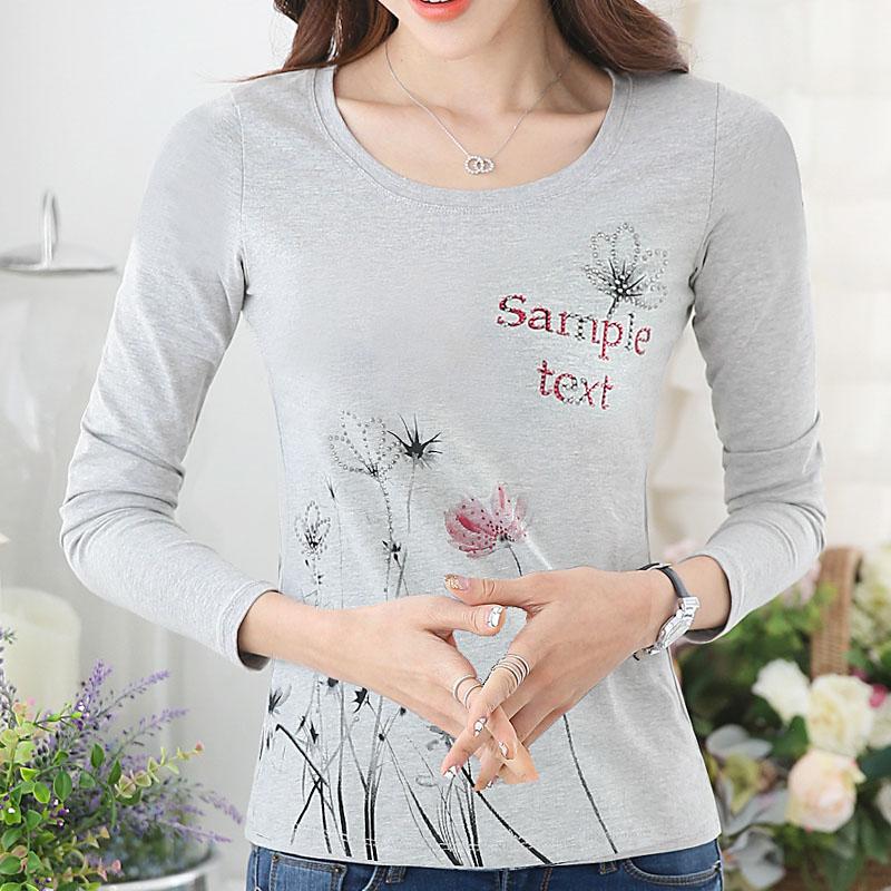 789长袖T恤女韩版修身体恤t-shirt内搭修身显瘦气质女装上衣潮