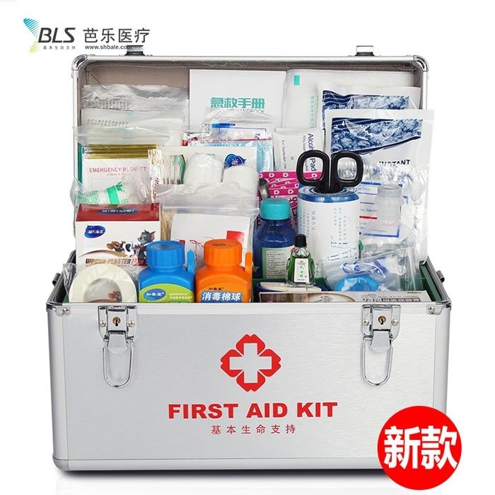 家用助庭医药箱急救收纳盒医疗用品出诊箱儿童大小号多层便携薬箱