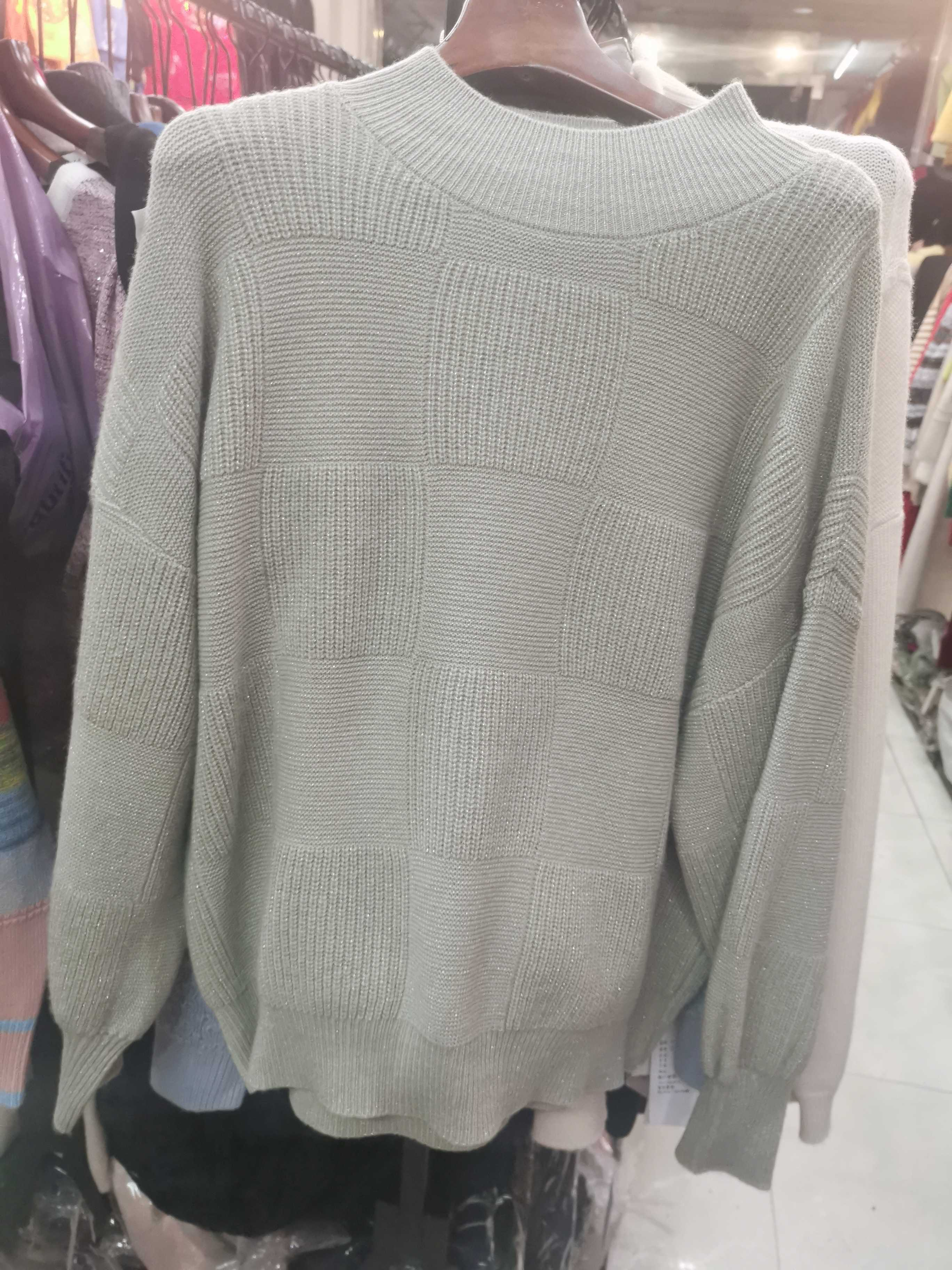 Special price - special price of cashmere sweater with bright silk