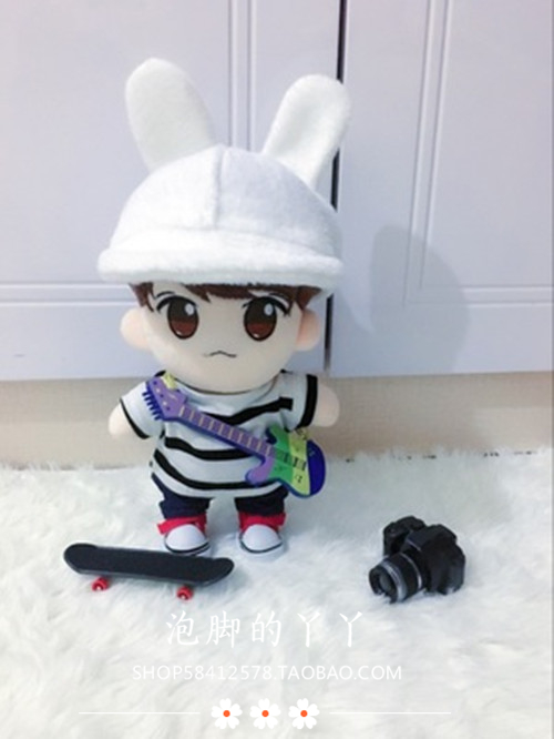 [in stock] Mini guitar instrument scene photo prop bjd4 points 6 points for small cloth exo doll