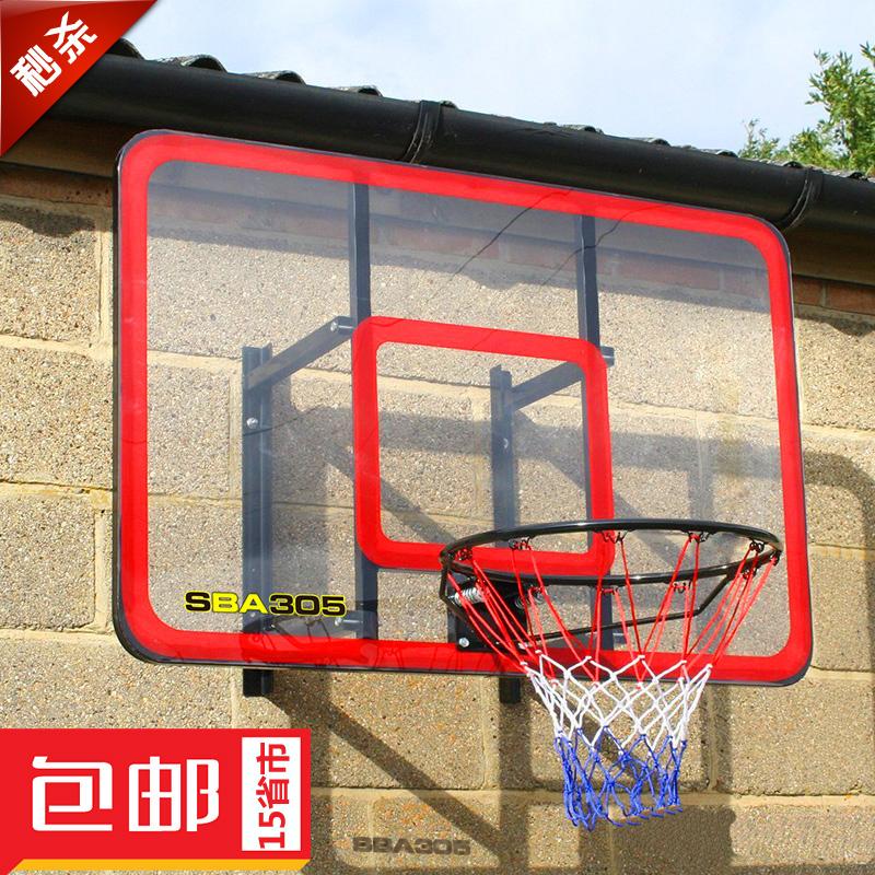 SBA305 баскетбол для взрослых подвесной на открытом воздухе стандарт баскетбол доска домой комнатный в корзину полка баскетбол коробка обруч